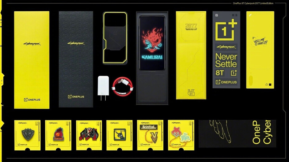 The crazy OnePlus 8T x Cyberpunk 2077 Edition is official, but you can't have it