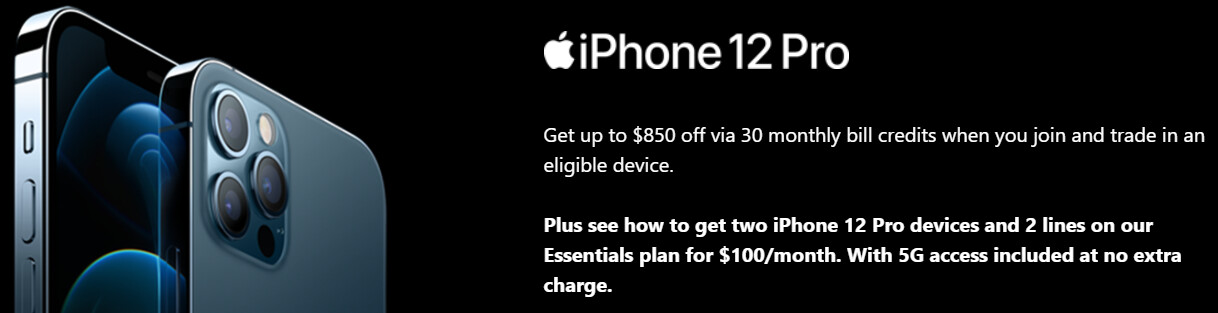 T-Mobile iPhone 12 Pro deal - The best iPhone 12 price and deals on T-Mobile, Verizon, or AT&T