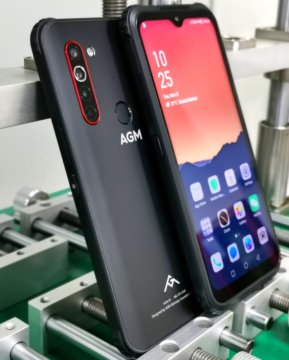 AGM X5 - AGM announces its first super-rugged 5G smartphone, discounts on all previous models