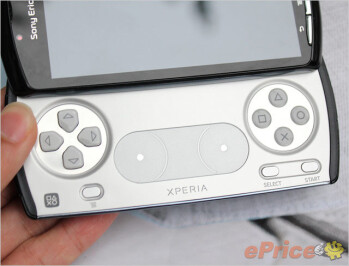 The unique game controller slides out in landscape orientation on the Sony Ericsson XPERIA Play