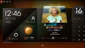 The MeeGo interface on Evolve III