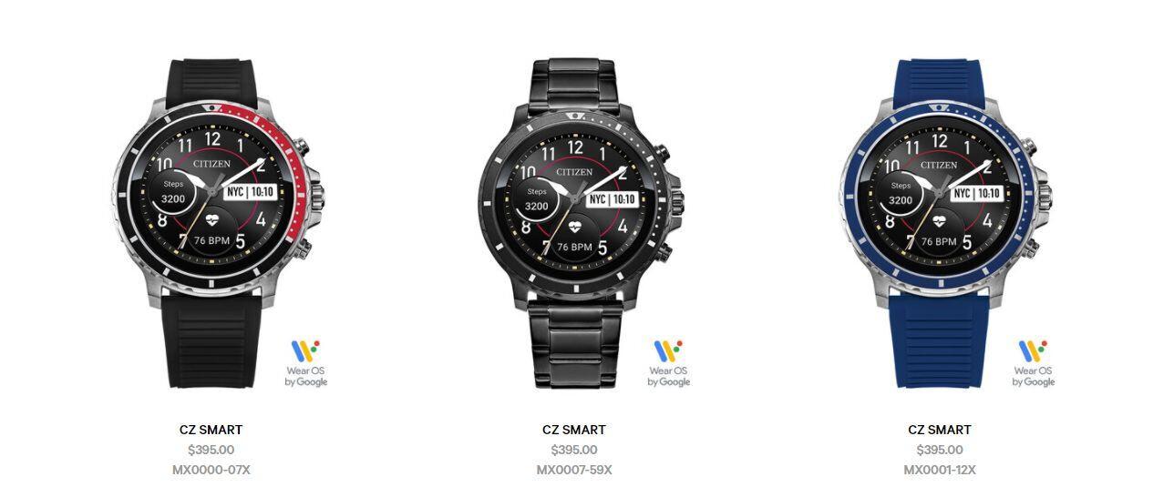 Citizen enters the smartwatch market with the CZ Smart model
