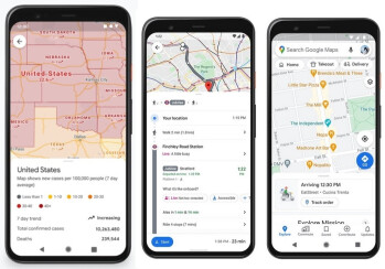 Google Maps driving mode begins turning out today