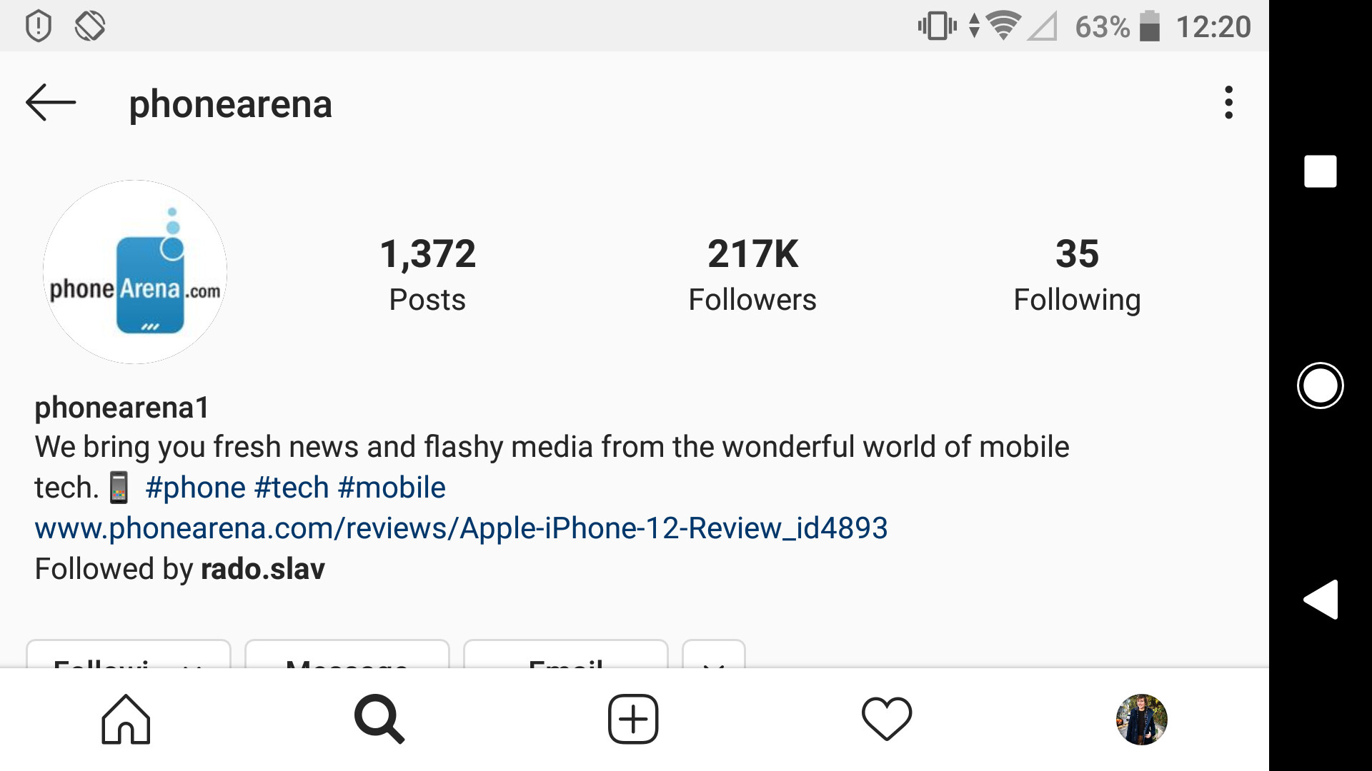 Instagram is now open in landscape mode - How to force landscape or portrait mode in apps like Instagram and others (Android)