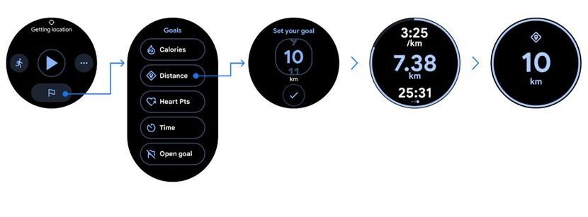 Google Fit ได้รับการออกแบบใหม่ใน Wear OS