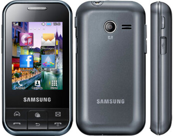 Messaging focused Samsung Ch@t 350 (C3500) is the latest to be leaked ahead of MWC