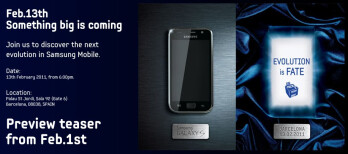 "Samsung is set to deliver the ""next evolution"" on February 13th at MWC"
