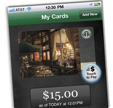 6,800 Starbucks stores are now allowing you to pay by waving your phone