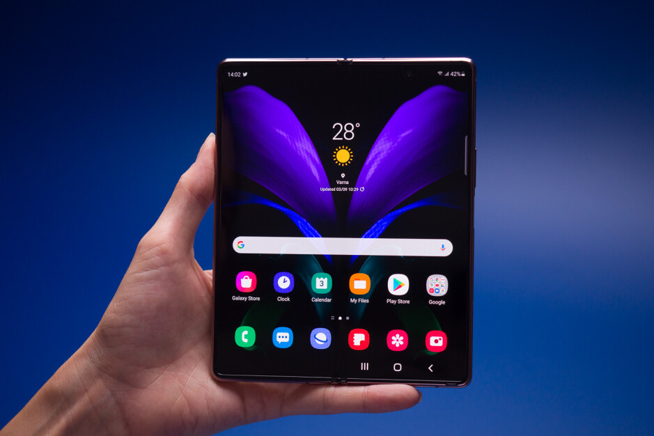 The Galaxy Z Fold 2 - Best AT&T deals right now