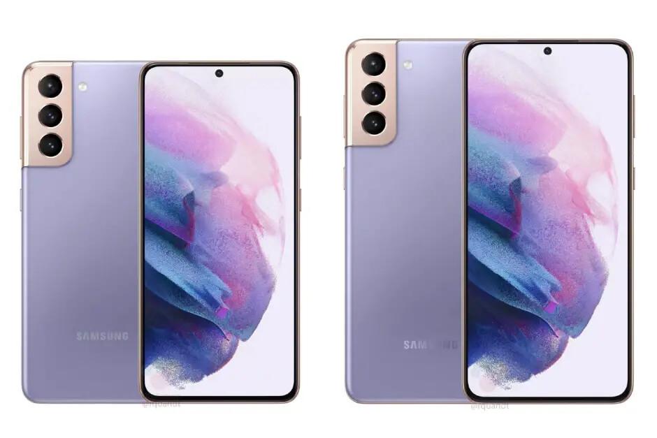 Galaxy S21 (izquierda), S21 + (derecha) - Reserve la serie Galaxy S21 de Samsung en los EE. UU. Ahora y reciba un (pequeño) regalo
