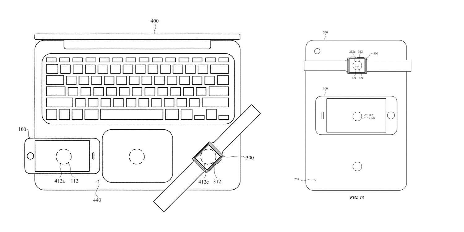 Apple patent turns a MacBook Pro into a wireless charger