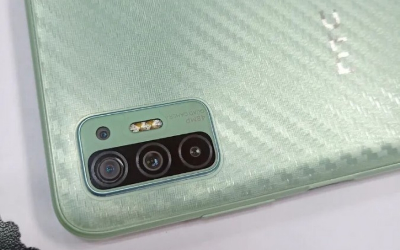"""Is that a fingerprint sensor/power button on the side?""""&nbsp - HTC Desire 21 Pro 5G may have just leaked"""