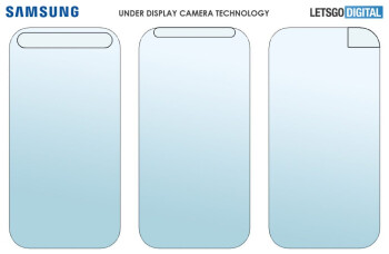 The camera area of the display might take up the entire top portion - Samsung's under-display camera in advanced development stage, new documentation shows