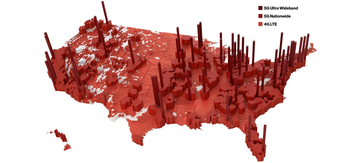 Verizon 5G network coverage map: which cities are covered?