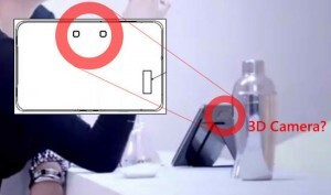 Are these the two lens for the LG G-Slate's 3D  camera?