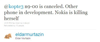 Eldar Murtazin refers to Nokia as