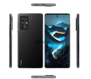 The Huawei P50 Pro will sport a waterfall display - Check out the latest rumored specs and renders of the Huawei P50 Pro 5G