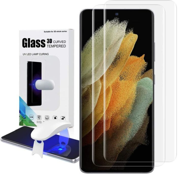 Samsung Galaxy S21+ screen protectors - every available option