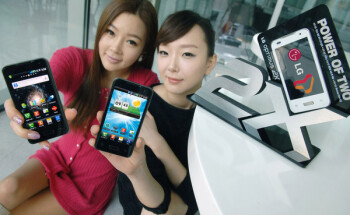 LG markets the Optimus 2X with 'the power of two' slogan