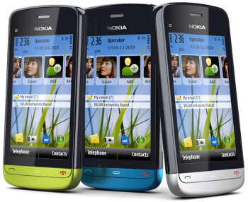 Nokia C5-03 which would've been re-branded to the Nokia Nuron 2 for T-Mobile.