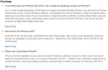 Verizon's iPhone 4 is going to cost $50 more off-contract versus AT&T's offering
