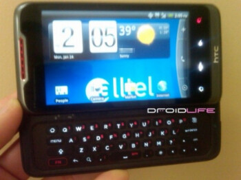 Is Alltel getting the HTC Merge?