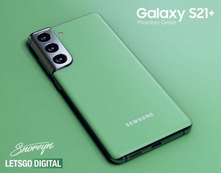 Samsung Australia outs unannounced Phantom Green Galaxy S21 Plus