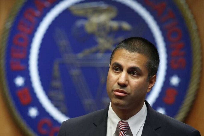 Former FCC Chairman Ajit Pai - Ex FCC Chairman Pai is gone; leaves warnings about possible Chinese spying