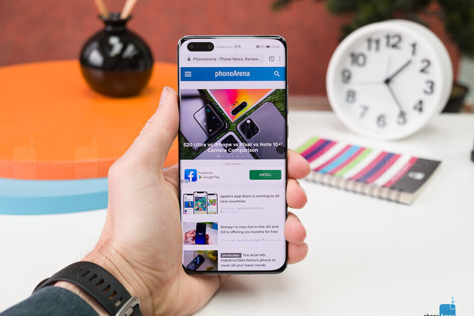 Even without GMS, Duo will run on the Huawei P40 Pro until March 31st - Huawei's founder reveals plan to beat U.S. sanctions
