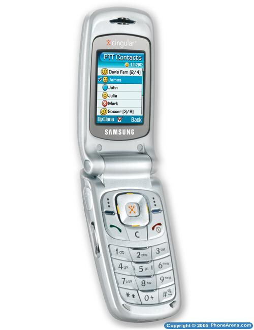 Samsung SGH-D357 available for Cingular's Push-to-Talk service
