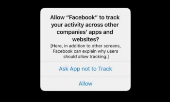 Apple's App Tracking Transparency feature will force developers to get permission from iOS users to track them - Apple's App Tracking Transparency feature to surface in next iOS beta
