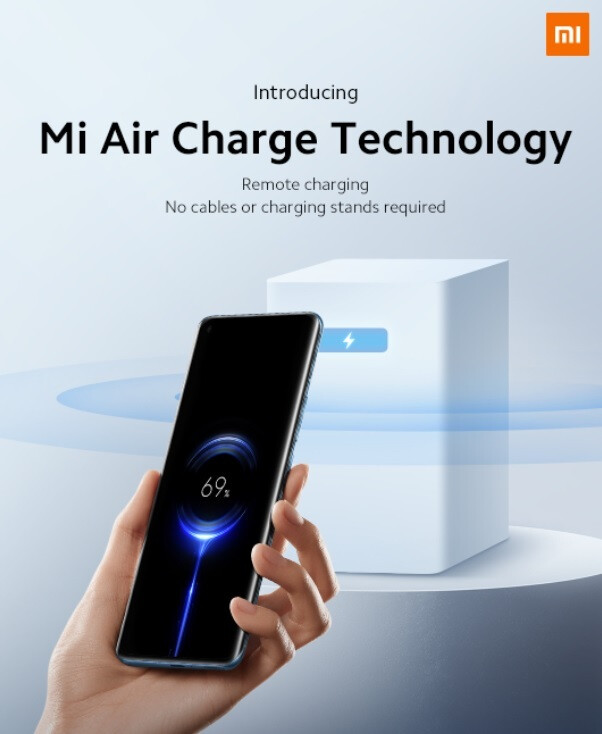 Xiaomi announces its Mi Air Charge remote wireless charging technology - Xiaomi introduces its new technology for true wireless charging