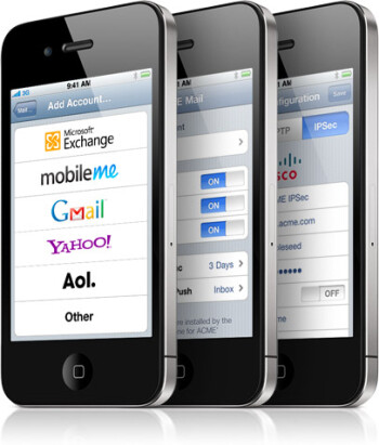Switching to the iPhone 4? Here's how to set up contacts and email