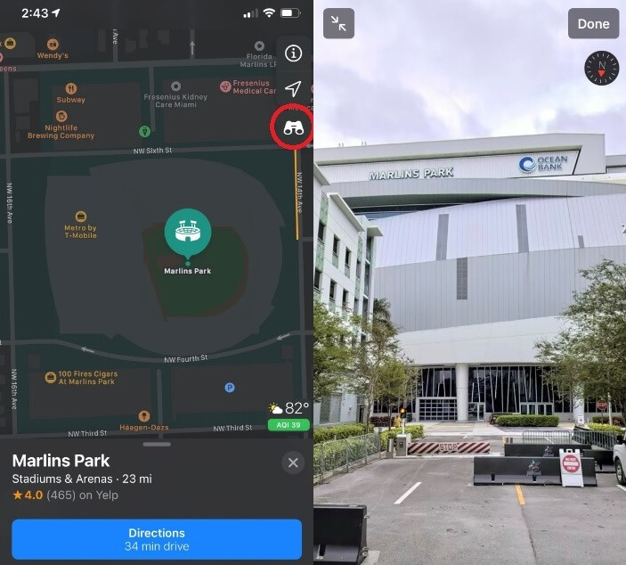 "Use Apple Maps Look Around feature to take virtual tours of certain cities - Apple adds more cities that you can virtually tour through its ""Look Around"" feature"