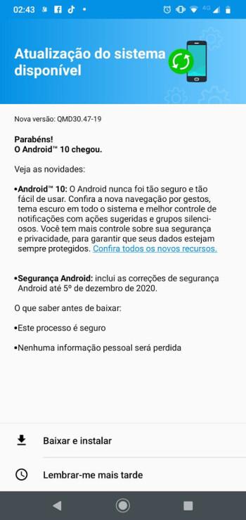 Motorola kicks off Moto G8 Play Android 10 rollout
