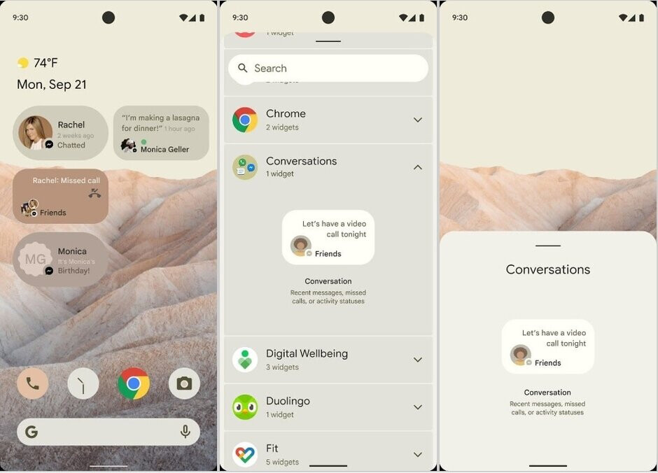 New Android 12 notifications - Android 12 update beta release date and new features