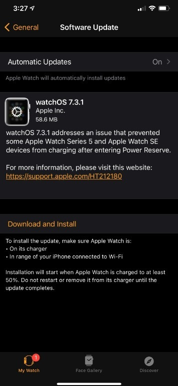 WatchOS 7.3.1 is available for the Apple Watch SE and Series 5 models - If you own one of these two Apple Watch models, you should update your timepiece right now