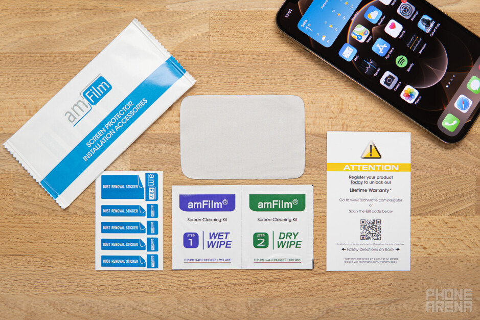 How to find the best screen protector? Tips with amFilm glass protectors for iPhone 12