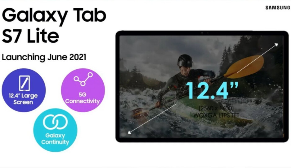 Samsung's upcoming Galaxy Tab S7 Lite 5G and Tab A7 Lite get their first big leaks
