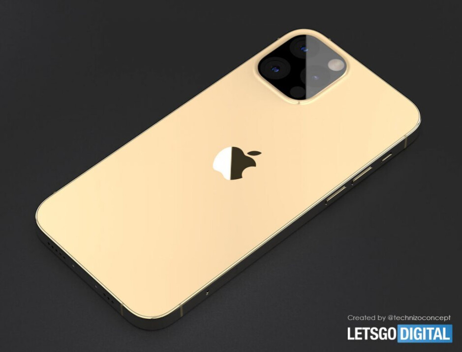 Render showing the rear of an iPhone 13 Pro - 5G iPhone 13 Pro renders reveal something that many iPhone users have prayed for