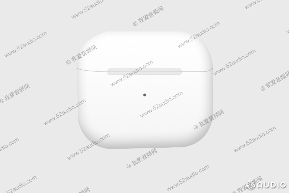 The third-generation AirPods could be unveiled early next month with a redesigned charging case - Third-gen AirPods new look allegedly appears in photos; ANC rumored to be included