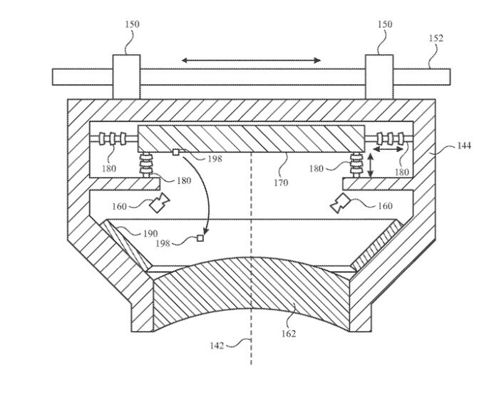 Image of the self-cleaning technology found on the patent - Аpple Glass introduces self-cleaning feature