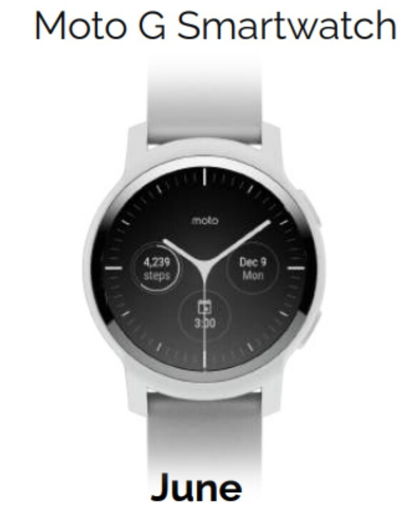 The Moto G Smartwatch is rumored to be unveiled in June - Three new Moto smartwatches rumored to be coming this summer