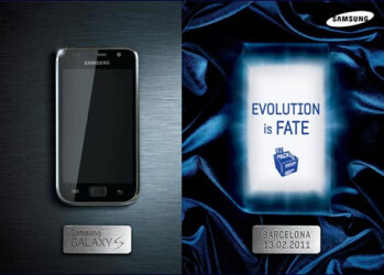 Samsung says the Galaxy S successor to arrive with a dual-core processor and Super AMOLED Plus screen