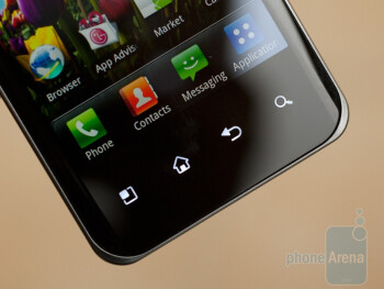 The LG Optimus 2X features a 4