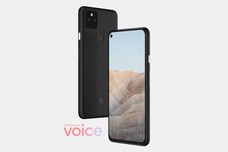 Leaked Google Pixel 5a CAD-based renders - The date of Google's Pixel 5a announcement event may have just leaked