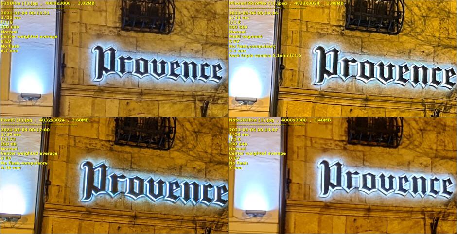Galaxy S21 Ultra vs iPhone 12 Pro Max, Pixel 5, Note 20 Ultra low-light camera comparison