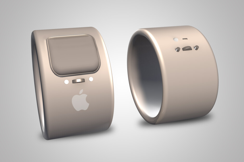 A 3D model of Apple's 2019 ring patent - Mysterious Apple Ring patent appears