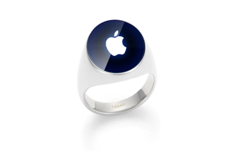 A fan concept of what an Apple ring might look like - Mysterious Apple Ring patent appears