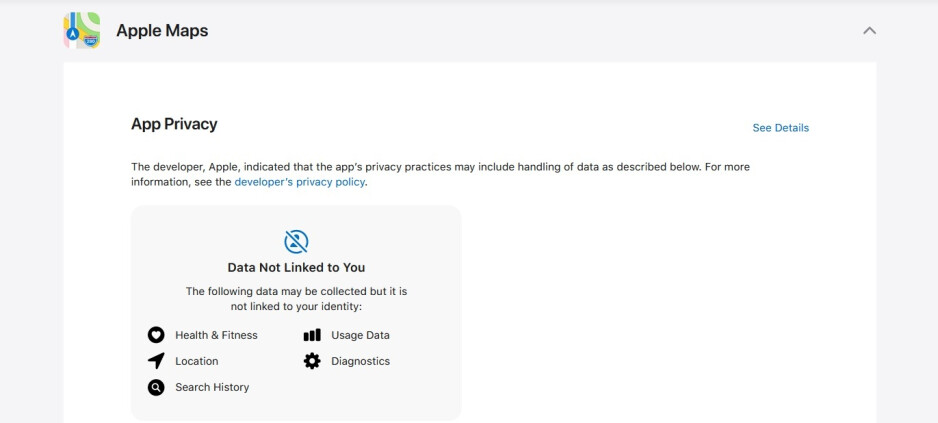 Apple puts up privacy labels for its own in-house apps - Find out what data Apple's own apps collect from you!